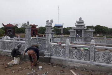 Thi công lăng mộ đá tại Hưng Yên