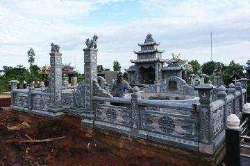 Công trình lăng mộ đá tại Quảng Ninh