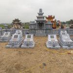 Thi công lắp đặt lăng mộ đá Nhà chú Thắng – Nam Cường, Nghệ An